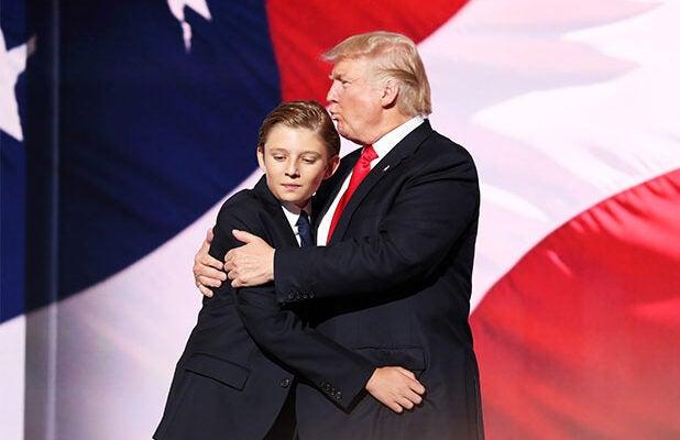 Barron Trump Donald Trump