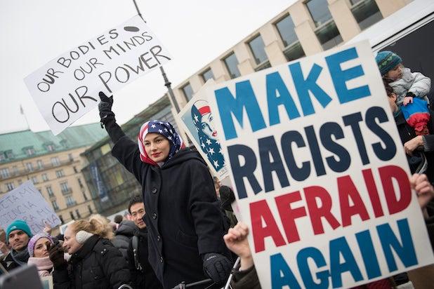 Women's March in Berlin