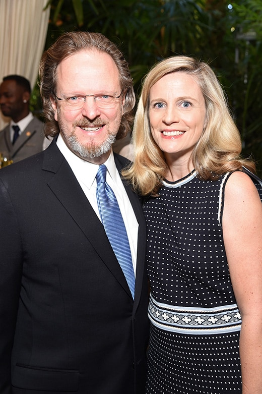 LOS ANGELES, CA - JANUARY 06: AFI President/CEO Bob Gazzale and Mimi Gazzale attend the 17th annual AFI Awards at Four Seasons Los Angeles at Beverly Hills on January 6, 2017 in Los Angeles, California. (Photo by Frazer Harrison/Getty Images for AFI)