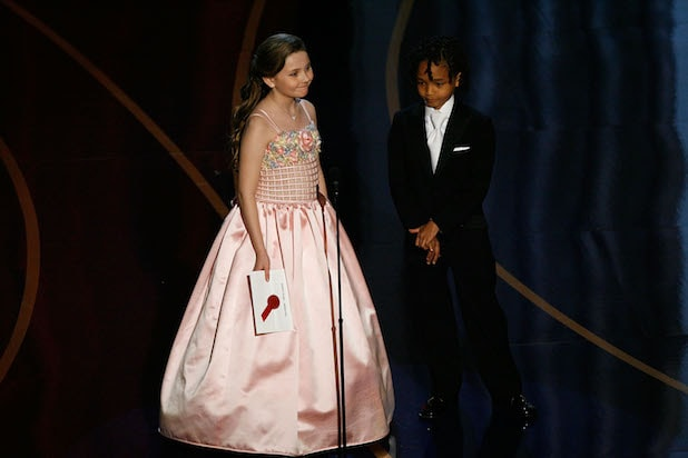 Abigail Breslin and Jaden Smith
