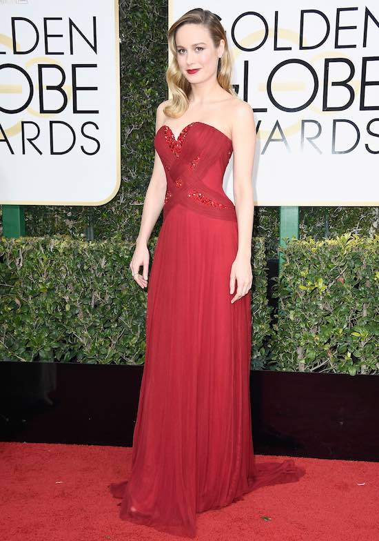Brie Larson Golden Globe Awards - Arrivals