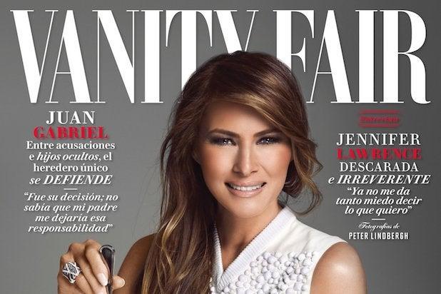 Melania Trump Vanity Fair Mexico Cover