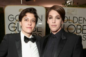 Chelsea Barnard and Megan Ellison