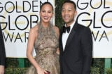 Chrissy Teigen and John Legend at Golden Globes