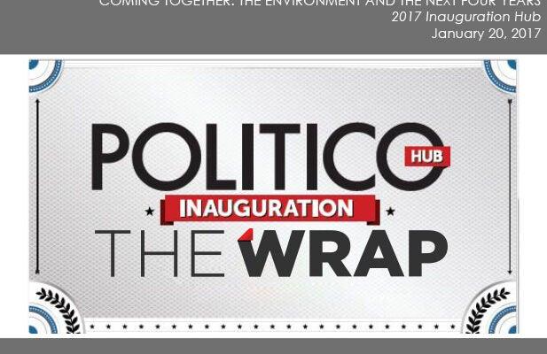 TheWrap, POLITICO, Inauguration Hub