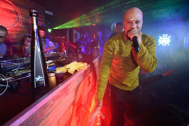 Common during a surprise performance at TAO Park City Presented by Tequila Don Julio on January 21