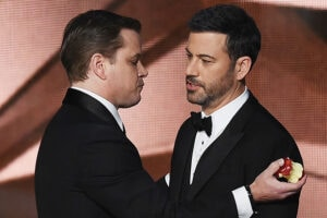 Matt Damon Jimmy Kimmel Feud