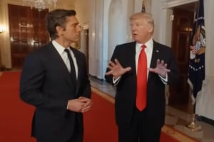 David Muir, Donald Trump