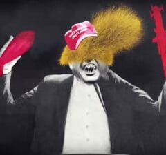 Donald Trump Is a Monster in Green Day's 'Troubled Times' Music Video