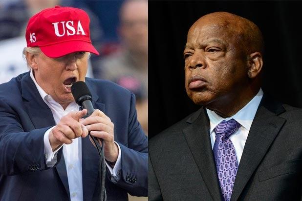 Donald Trump Bashes John Lewis Over Inauguration Boycott
