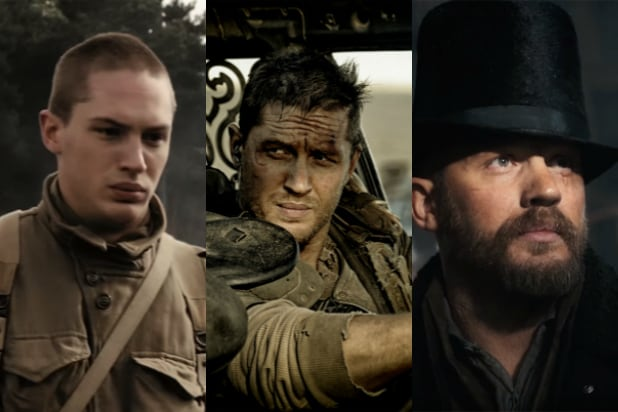 evolution of tom hardy