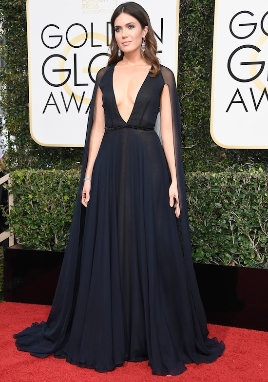 Mandy Moore Golden Globe Awards - Arrivals