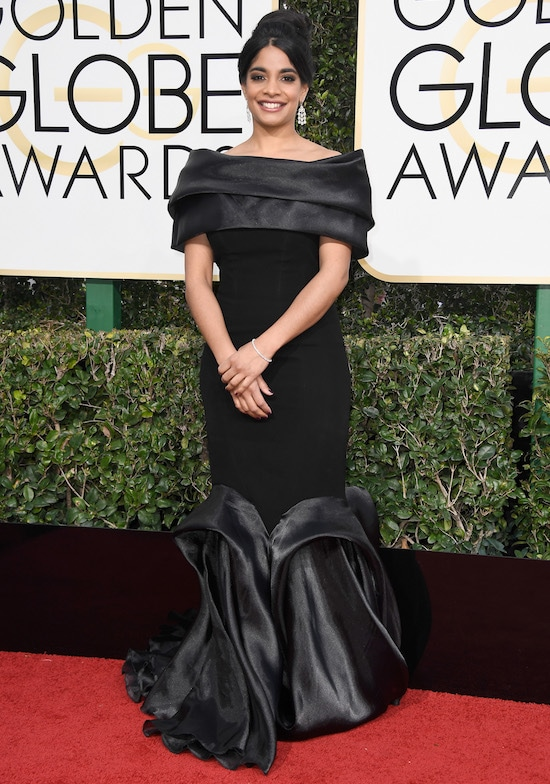 Amara Karan Golden Globe Awards - Arrivals