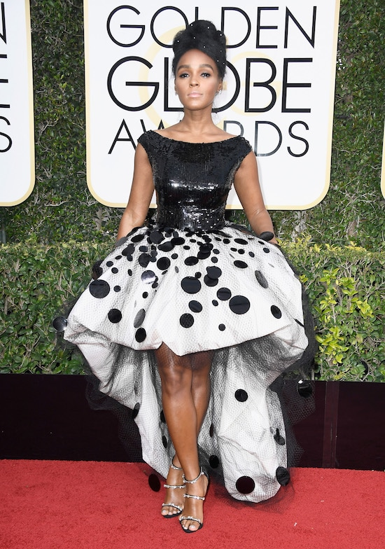 Janelle Monae Golden Globe Awards - Arrivals