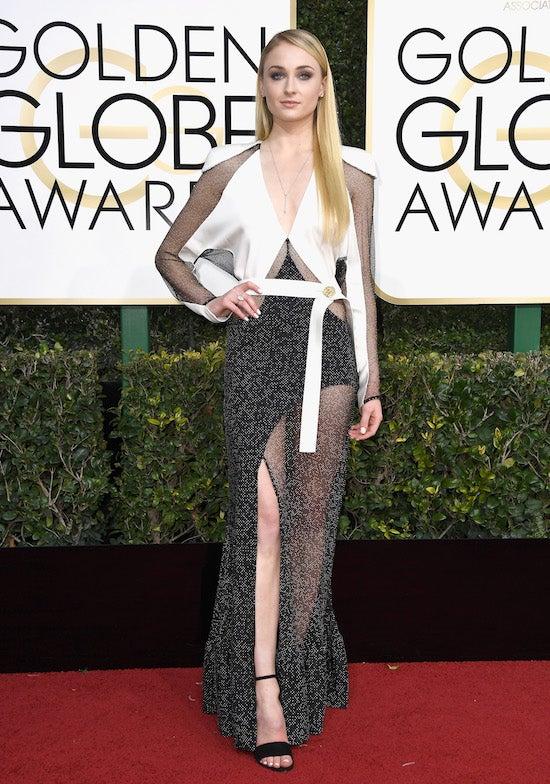 sophie turner Golden Globe Awards - Arrivals