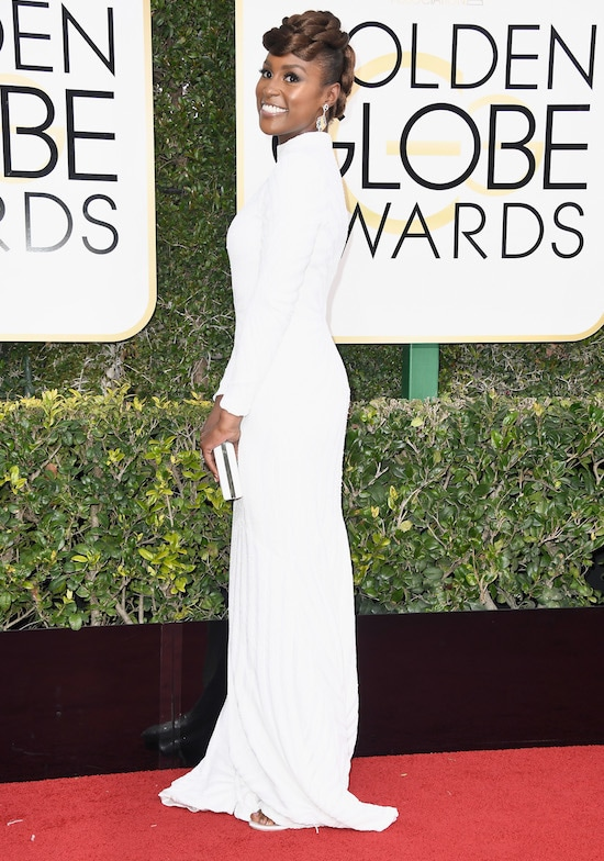 issa rae Golden Globe Awards - Arrivals