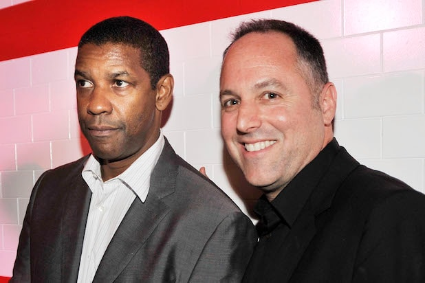 Denzel Washington and Todd Black in 2009 (Kevin Winter/Getty Images)