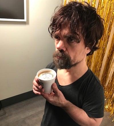 Peter Dinklage Latte