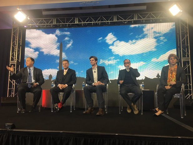 Inauguration politico panel