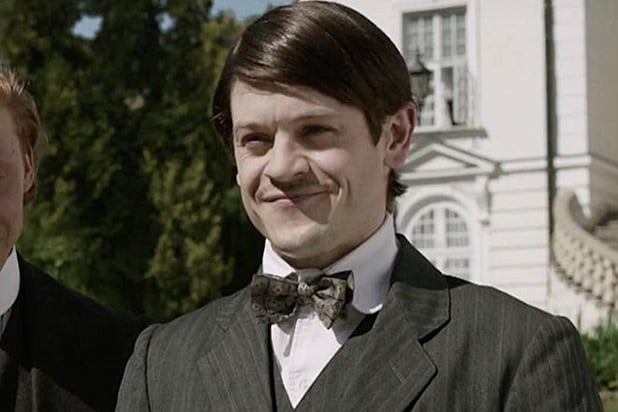 Iwan Rheon as Hitler in Urban Myths