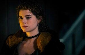 Jessie Buckley as Lorna Bow in Taboo