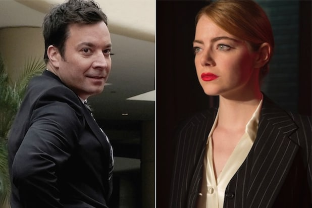 Jimmy Fallon Emma Stone