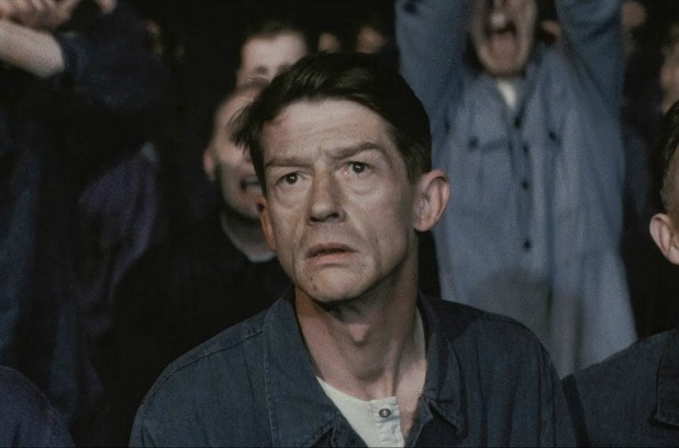"John Hurt as Winston in ""Nineteen Eighty Four"""