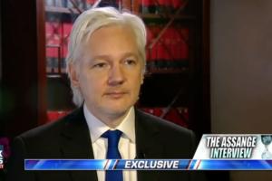 Julian Assange hannity wikileaks interview flip