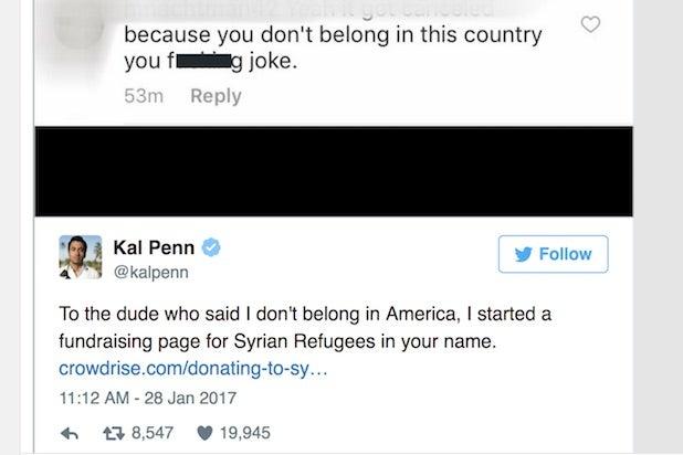 Kal Penn Tweet
