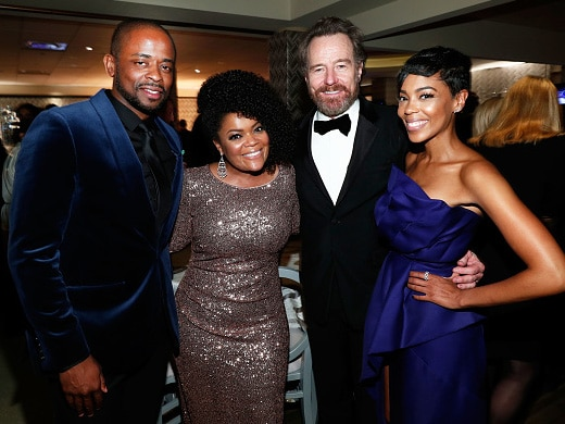 l-r-actors-dule-hill-yvette-nicole-brown-bryan-cranston-and-jazmyn-simon-attend-hbos-official-golden-globe-awards-after-party-getty
