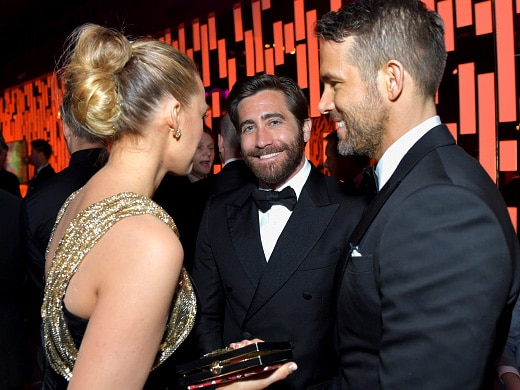 l-r-blake-lively-jake-gyllenhaal-and-ryan-reynolds-attend-the-2017-instyle-and-warner-bros-73rd-annual-golden-globe-awards-post-party-getty