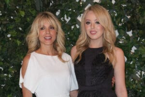 Marla Maples TIffany Trump Inauguration Hair