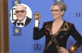 Meryl Streep and Lorenzo Soria Golden Globes