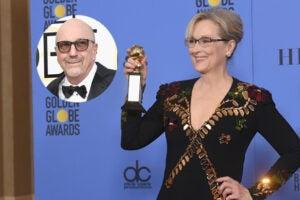 Meryl Streep and Lorenzo Soria Golden Globes