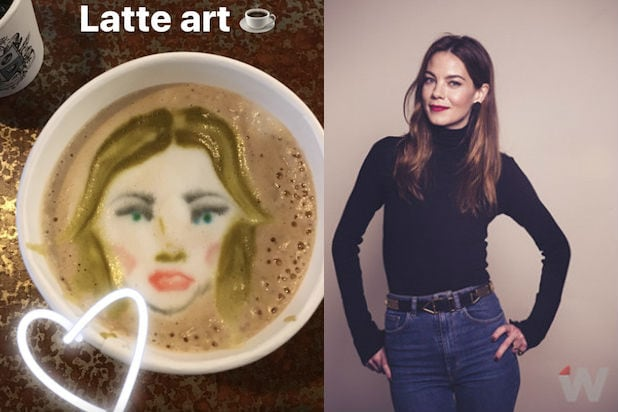 Michelle Monaghan Latte