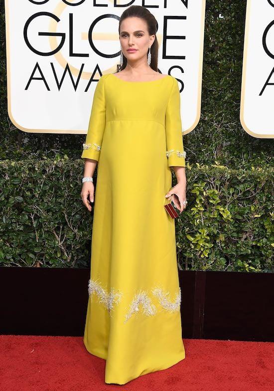 natalie portman Golden Globe Awards - Arrivals