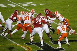National Championship Game Alabama Clemson