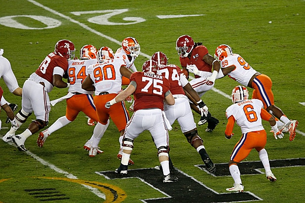 who is playing in the national championship footbal games