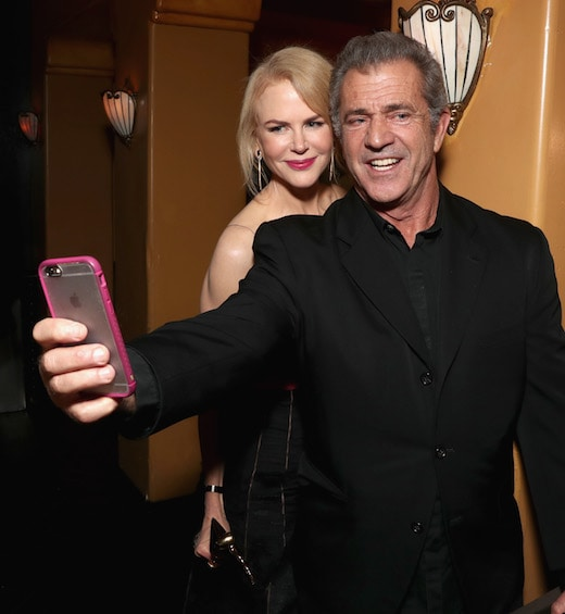LOS ANGELES, CA - JANUARY 06: Actress Nicole Kidman (L) and director Mel Gibson attend The 6th AACTA International Awards on January 6, 2017 in Los Angeles, California. (Photo by Todd Williamson/Getty Images for AACTA )