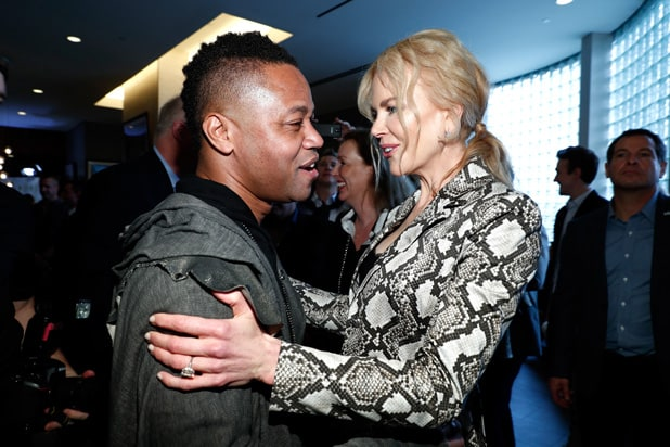 Nicole-Kidman-and-Cuba-Gooding-Jr-at-Equinox-Gold-for-Gold