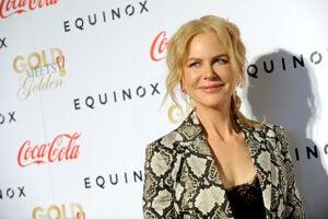 Nicole Kidman Gold Meets Golden