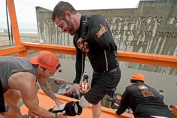 Noah Galloway Tough Mudder