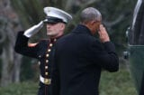 Obama Departing White House