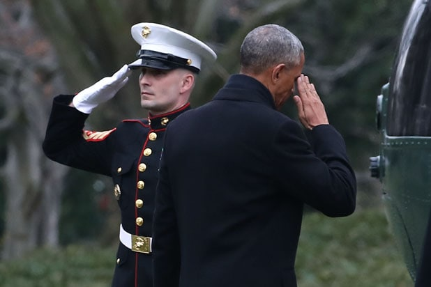 Obama Departing White House