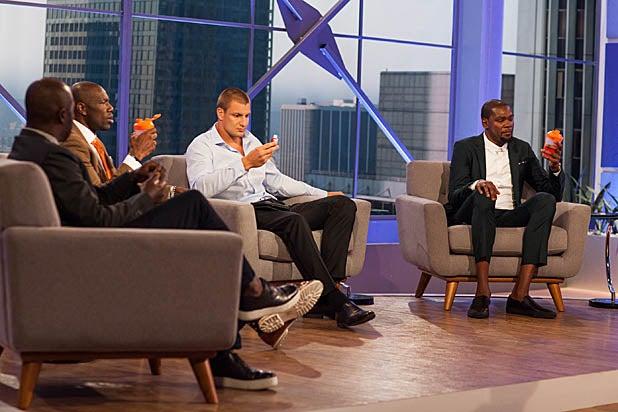 Rob Gronkowski, Antonio Brown and Terrell Owens on MVP