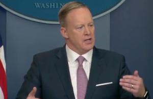Sean Spicer white house press briefing watch