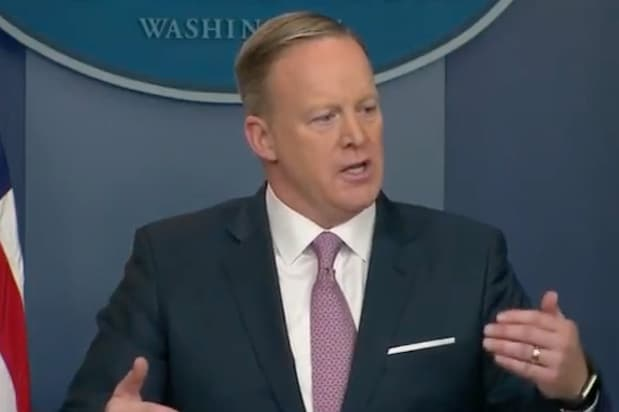 Sean Spicer white house press briefing watch