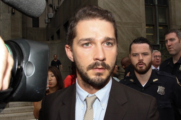 Shia LaBeouf arrested for being drunk in public