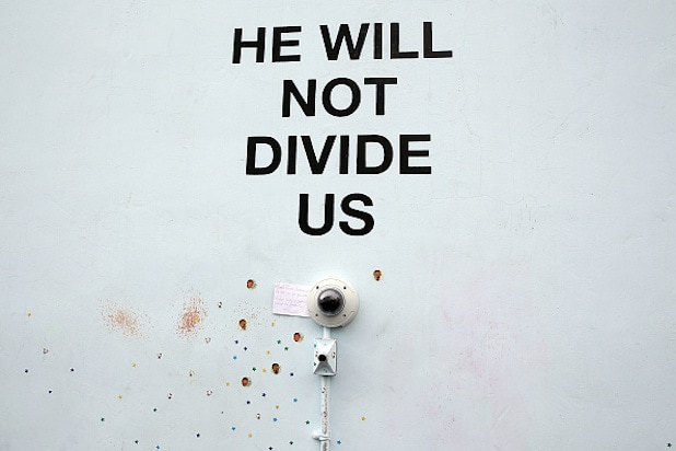 Shia LaBeouf Arrested At The Site Of His Four-Year Livestream Anti-Trump / Anti-Divide Protest
