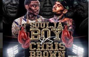 soulja boy chris brown flyer